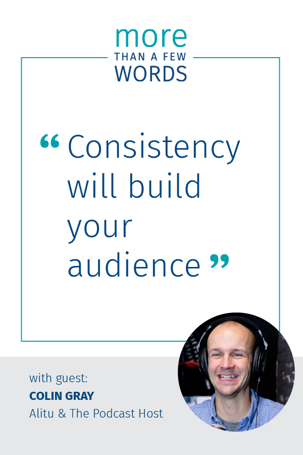 Consistency will help you in overcoming the content hurdle