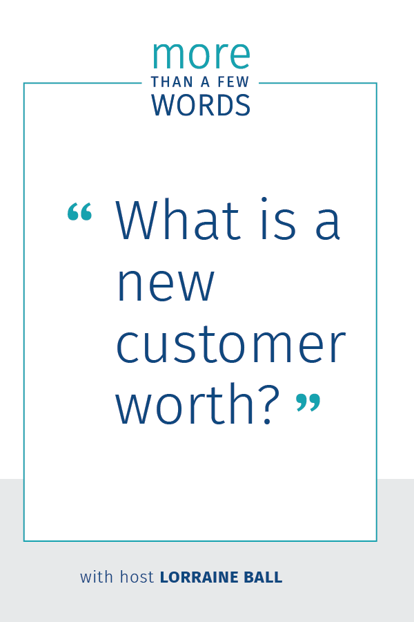 what is a customer worth?