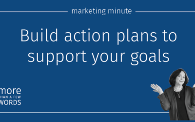 #558 Create Action Plans to Support Your Goals