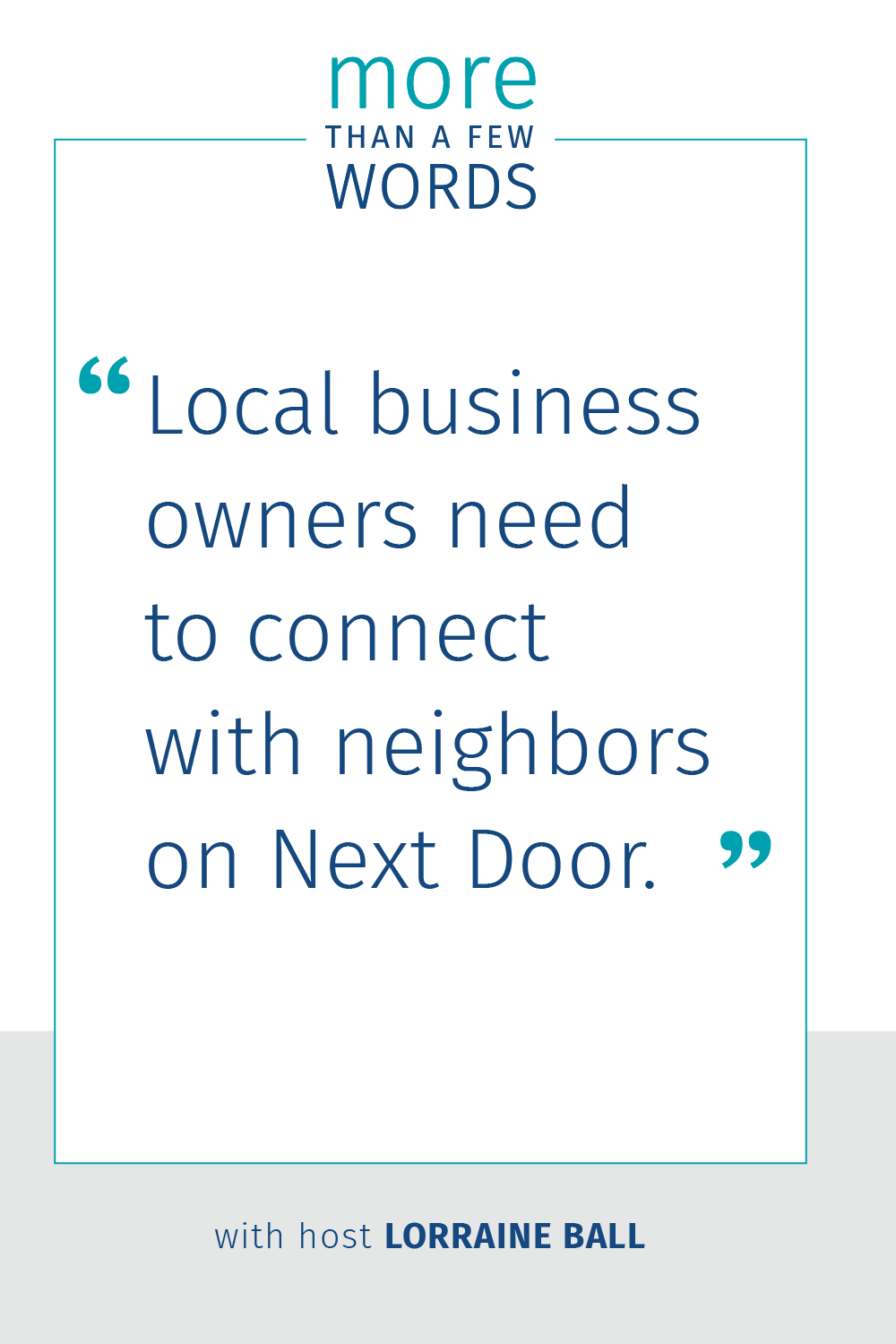 Connect with Neighbors on Next Door