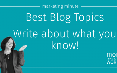 #605 How To Find Blog Topics