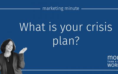 #621 Crisis Management Plan