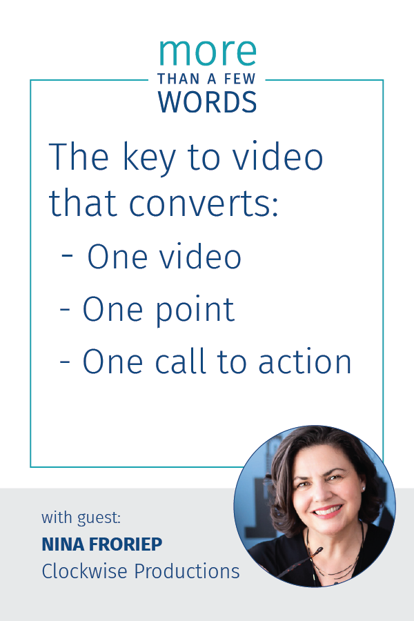Convert prospects with Video - Nina Froriep tells you how
